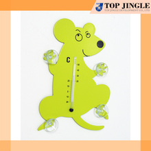 Metal Funny Animal Shaped Thermometer