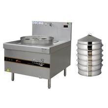 Commercial dim sum steamer with CE certificate