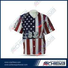 Custom colour full latest style Baseball sublimation printed /Baseball Jersey/ High Quality Team wear