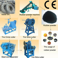 used tire recycling machine /waste tire recycling machine/reclaimed rubber machine