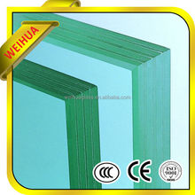 clear laminated safety glass/bullet resistant door with CE/CCC/SGS/ISO