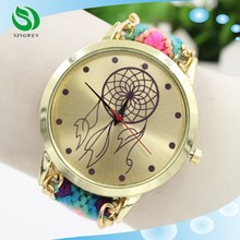 New style lady watch strap fabric Foreign trade wholesale watch