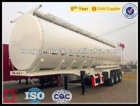 tri-axle fuel /oil/ water tank semi trailer for sale
