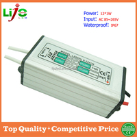 all kinds of outdoor led lights using led driver that is 12w ac 85-265V 300ma constant current