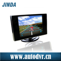 Professional Producer of Easy to Installation on the dashboard with 3.5 inch digital panel TFT LCD reverse monitor