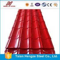 Metal Roofing Sheet/ Popular Corrugated Galvanized Aluminium Colored Steel