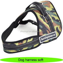 Camouflage easy walk pet dog body harness soft