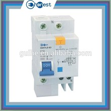 DZ47LE-63 Residual Current Circuit Breaker with Over Current Protection,Electrical leakage circuit breaker(RCBO,ELCB,RCD,,RCCB)
