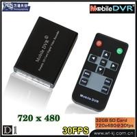 mini mobile digital video recorder Mobile/bus DVR mini protable dvr