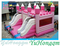 Customize Beautiful Castle Inflatable Bounce House/ Bouncy Castle/ Bouncer and Jumper for Kids