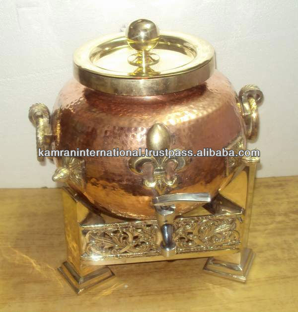 Copper brass water storage pot copper brass water storage for Copper water tank