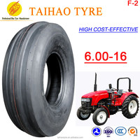 China cheap high quality wholesale Hot Sale TAIHAO BRAND F2 pattern 6.00-16 farm tyres agricultural tyres front tractor tyres