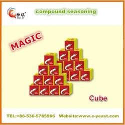 10g Halal garlic seasoning cube powder for west African market China supplier