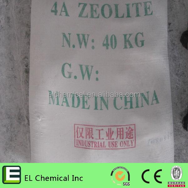 제올라이트 4A 세제, 플라스틱, 종이 화학 물질 좋은 가격으로