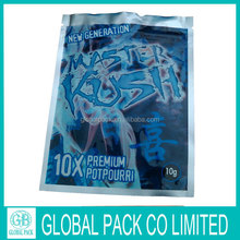 Alibaba China Wholesale High Quality Herbs Packing Bag Spice Package Bag