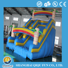 2015 commercial Play Palace spongebob inflatable water slide