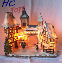 Building Model, Building Souvenir, Resin Scaled Building