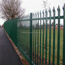 High Quality palisade /palisade fence /sharp steel palisade fencing ( 20 years professional factory)