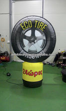 Advertising tire inflatable sign inflatable