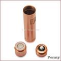 nuevo magnética cigarrillo electrónico penny mod pomo de bronce original rojo