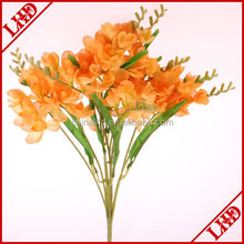 artificial freesia bush flower 50-55cm bush flower 9 branches bush flower