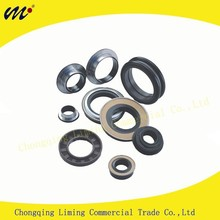 Factory Automotive and Industrial Rubber Covered O.D CSM TC Dual Lip Dustproof Pump Oil Seal