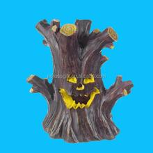 Ganz Halloween LED Fairy Garden Gnome Haunted Tree House