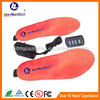 Promotional Battery Powered Foot Heated Ski boot insoles thermacell rechargeable heated insoles with Remote Controller