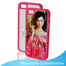 For Iphone 5 Sublimation Blank Phone Case 2D fashion tpu bumper phone case