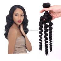 Free Sample 20 Inch Human Hair Springs Extensions / 100% Virgin Spiral Curly Peruvian Human Hair