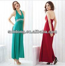 party Evening Halter Design Woman's Dresses