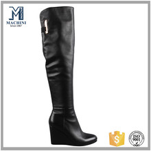 B1084 Fashionable women sexy genuine leather boots thigh high