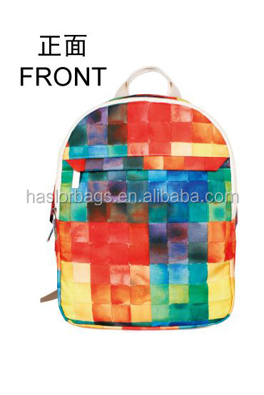 Hot style et meilleure vente colorful punk sacs à dos pour les adolescents