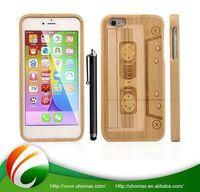 Good Quality Custom Printing Logo Blank Wood Case For Iphone 6