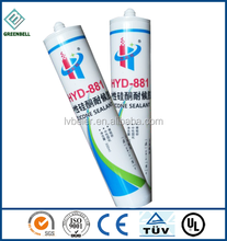 Competitive prices fast dry anti cossion excellent adhesion glass silicone sealant