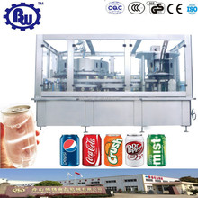 Reliable Factory Price Full Automatic Carbonated Beverage Can Beer Filling Machine, Canning Production Line
