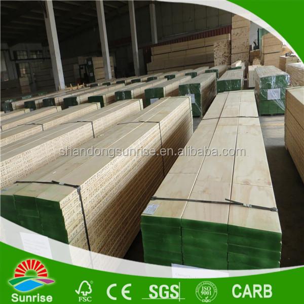 Osha laminated pine scaffolding planks with phenolic glue