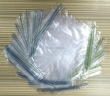Double seals plastic zipper sandwich bag with intertek certification