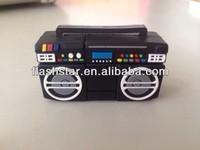 newest mini radio shape USB flash drives/Pormotional usb flash drive from 64MB to 32GB/Top sale promotion gifts USB Flash Drive