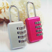 Hot Sale New Design Security Safe Combination 4 Digit Combination Lock For Children