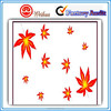 Art Paper Adhesive Beautiful Maple Leaf Wall Stickers