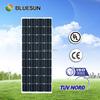 Bluesun hot sale high efficiency 80w 90w 100w 110w rolling solar panel