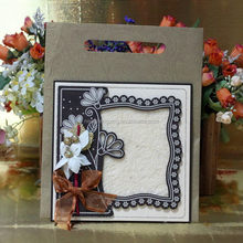 Popular hotsell wooden wedding card crafts