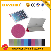 PU Leather Hot tablet case For iPad Mini 123 smart cover case Three folding official smart cover with back cases for ipad mini