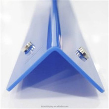 Customize a variety of colors and strong impact resistant acrylic protection corner, wall angle protected