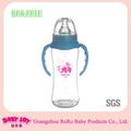 bebé PP leche agua biberón libre de BPA/silicona pezón bebé biberones