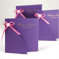 Indurative welcome cards with wordings
