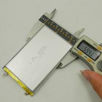 flat lithium polymer battery 3.7v 4000mah for flat power bank