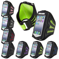 Net arm with a 5.5 -inch checkered armband mesh breathable sports armband case for Iphone 6 plus