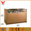 Good quality cell phone display counter/watch display cabinet/wallet display showcase